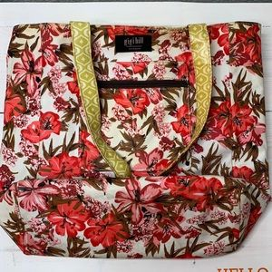 Gigi hill oversized tote bag in a floral pattern
